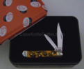 Case 9119 Peanut Persimmon Orange Knife