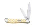 Case 9127 Peanut Knife with Yellow Handle