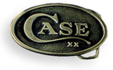 WR Case 934 Promotional Brass Belt Buckle