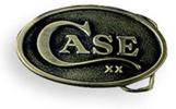 WR Case 934 Promotional Brass Belt Buckle