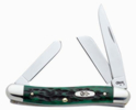 Case 9721 Medium Stockman Knife Bermuda Green