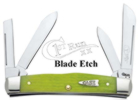 Case 99113 Key Lime Medium Sized Congress Knife