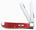 Case 6207 CV RED BONE MINI TRAPPER - 6983