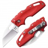 Cold Steel TUFF LITE PLAIN  EDGE RED - 20LTR