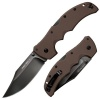 Cold Steel RECON 1 CLIP PT FLAT DRK EARTH - 27TLCVF