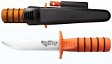 Cold Steel 80PH Survival Edge Orange Knife