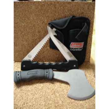 Coleman Coleman Hatchet/saw Set knives 700