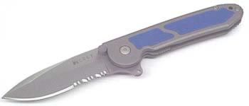 M18-12BCarson FlipperBlue Inlays180 Degree Pivot M18-12B