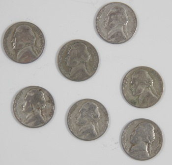 1942-1945 Silver War Nickel