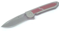 The Columbia River Red Inlay knife