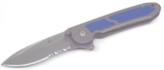 M18-12BCarson FlipperBlue Inlays180 Degree Pivot