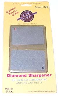 EZE-LAP Credit Card Stone Fine/coarse sharpeners 220
