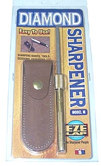 EZE-LAP 3 3/4 Dia Steel W/Sheath ELM