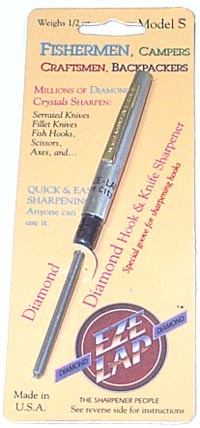 EZE-LAP 2 1/4 Dia Steel Pen Type sharpeners S