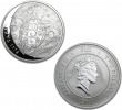 2011 New Zealand Silver Fiji Taku 1 oz Coin .999 Fine
