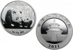 2011 Chinese Silver Panda 1 oz Coin - In Capsule