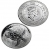 2012 New Zealand Silver Fiji Taku 1 oz Coin .999 Fine