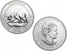2013 Canadian Silver Polar Bear 1.5 oz Coin .9999 Fine