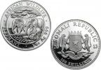 2013 Silver Somalian African Elephant 1 oz Coin