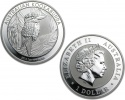 2014 Australian Silver Kookaburra Coin 1 oz