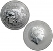 2014 Silver Australian Year of the Horse 1 oz Coin