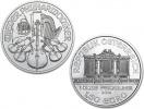 2014 1 Oz Silver Austrian Philharmonic Coin .9999 Fine