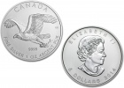 2014 Silver Bald Eagle Birds of Prey 1 oz Coin