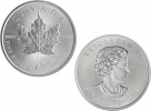 2014 Canadian Silver Maple Leaf 1 oz .9999 Fine