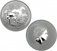 2014 Silver Australian Year of the Horse 0.5 oz Coin