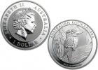2014 Australian Silver Kookaburra Coin 1 oz - 20 Pack