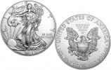 2015 1 oz Silver American Eagle Coins - 5 Pieces