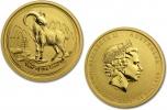 2015 Gold Australian Goat 1/10 oz Coin