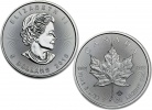 2016 Canadian Silver Maple Leaf 1 oz .9999 Fine