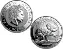 2016 Australian Silver Koala 1 oz Coin - in capsule