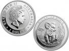 2017 Australian Silver Koala 1 oz Coin - in capsule
