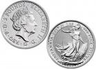 2017 Silver Britannia 1 oz Coin