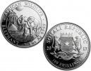 2017 Silver Somalian African Elephant 1 oz Coin