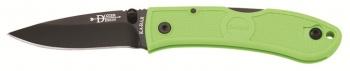 Ka-Bar Mini Dozier Fold Zombie Green knives 4072ZG