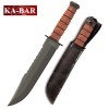 Ka-Bar Big Brother knife with leather handle 2217