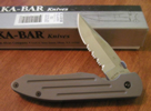 Ka-Bar 4050 Knife 3 Inch Folding Clip-Point Blade