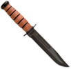 Ka-Bar USMC 5017 Fighting Knife Leather Sheath7 Clip Point Blade