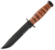 Ka-Bar 1261 Short USA Serrated Knife