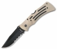 Ka-Bar 3053 Desert Mule Serrated Knife