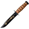 Ka-Bar IRAQI FREEDOM ,ARMY LEATHER - 9127