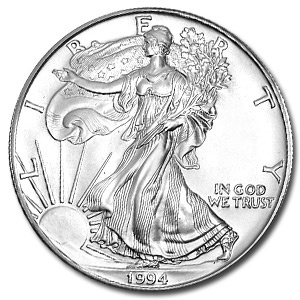 1994 1 oz Silver American Eagle Coin