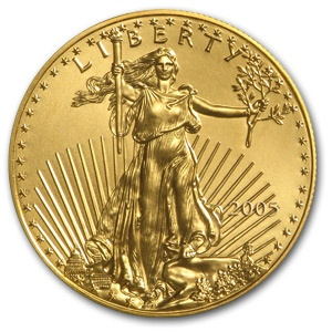 2005 1 oz Gold American Eagle Coin