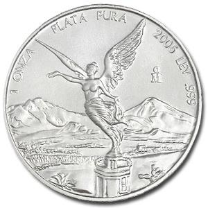 2005 Mexican Silver Libertad 1 oz