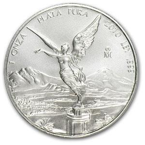 2010 Mexican Silver Libertad 1 oz