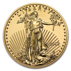 2012 1/4 oz Gold American Eagle Coin