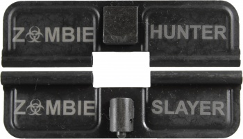 Zombie Hunter Zombie Slayer AR-15 Laser Engraved Ejection Port Dust Cover